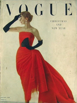 red dress vogue